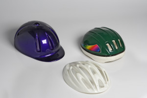 pearlescent metallic ABS sheet and high gloss HIPS sheet are used by our clients to create show-stopping helmets